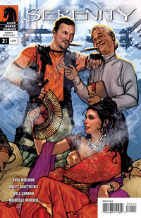 Serenity and Firefly comics