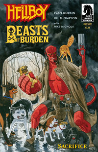 Beasts of Burden Hellboy
