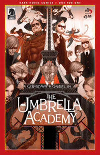 Umbrella Academy comics and collectibles