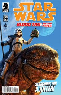 Boba Fett is dead in Star Wars Blood Ties miniseries.