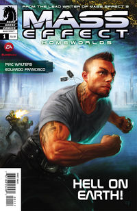 Mass Effect: Homeworlds Comics