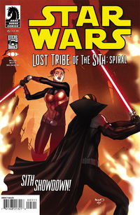 Star Wars: Lost Tribe of the Sith - Spiral #5 review at TFAW.com