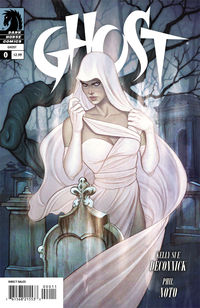 Kelly Sue resurrects Dark Horse's Ghost in a new series starting next month.