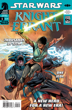 Star Wars: Knight Errant #1 Dave Ross Cover