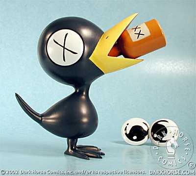 Tony Millionaire's Drinky Crow PVC at TFAW.com
