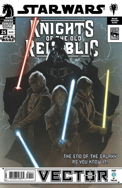 Star Wars: Knights of the Old Republic #25 - Vector part 1