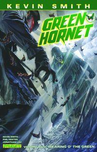 Green Hornet TPB Vol. 02 Wearing Green