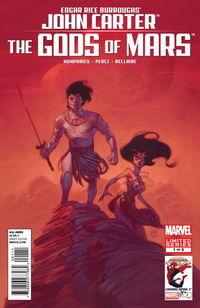 John Carter Gods of Mars Comics