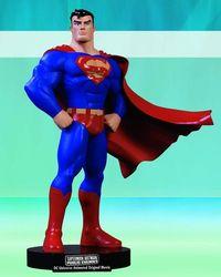 Superman Batman Public Enemies DVD Superman Maquette