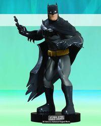 Superman Batman Public Enemies DVD Batman Maquette