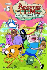 Adventure Time Signing with Chris and Georgia Roberson