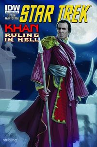 Star Trek Khan: Ruling in Hell #1