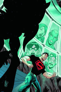 Young Justice #1 Art Baltzar Franco