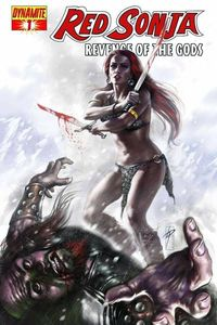 Red Sonja Revenge of the Gods #1