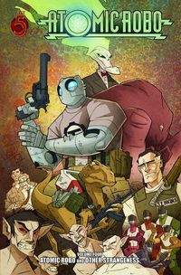 Atomic Robo TPB Vol. 4 Other Strangeness review at TFAW.com