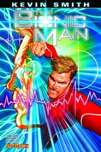 Bionic Man #2 Alex Ross Cover