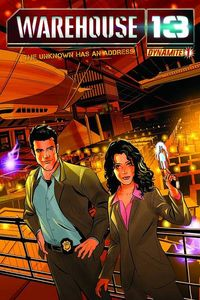 Warehouse 13 comics at TFAW.com