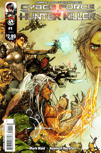 Cyberforce Hunter Killer #1 (of 5) (Cover A - Rocafort Hunt Kill)