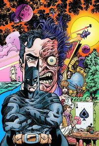 Original graphic novel by Walt Simonson features Batman and other popular characters in the history of the DC Universe.