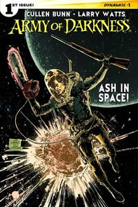 Comic Book Writer Cullen Bunn takes the Army of Darkness, and the heroic Ash to space