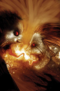 DeConnick's first multi-issue writing gig with Steve Niles in 30 Days of Night: Eben and Stella.