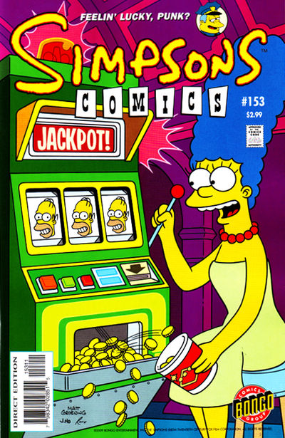 The Simpsons Comics (Bongo)   Issue No  153 preview 0