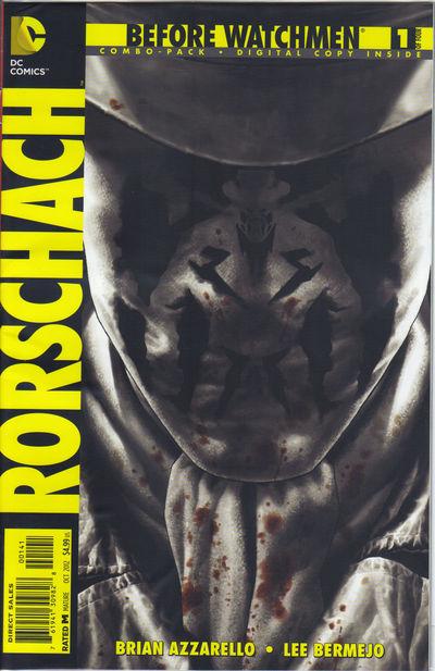 Portada del Before Watchmen Rorschach 1