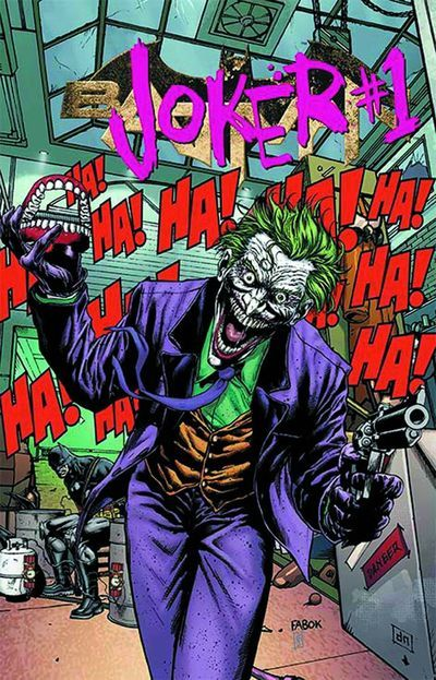 DC's Villains Month - Joker