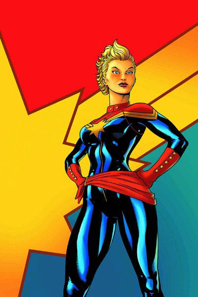 Portada del Capitán Marvel 1