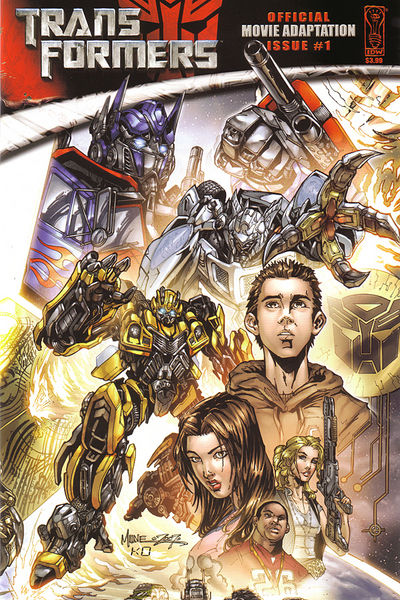 Transformers Movie Adaptation (Issue 4 of 4) [ preview 0