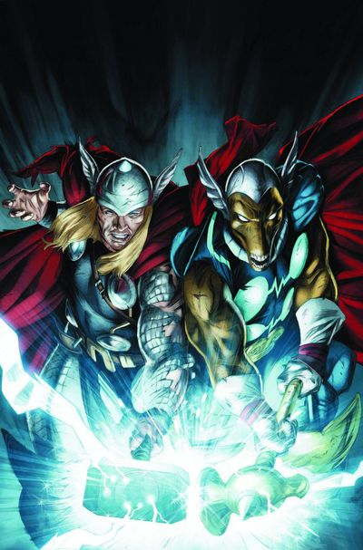 Secret Invasion Thor #3 (of 3)