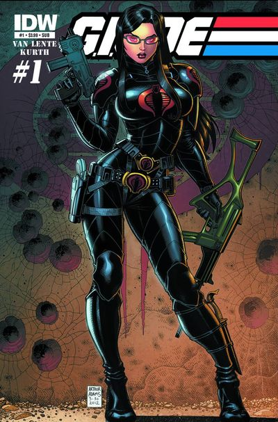 G.I. Joe #1 Subscription Variant