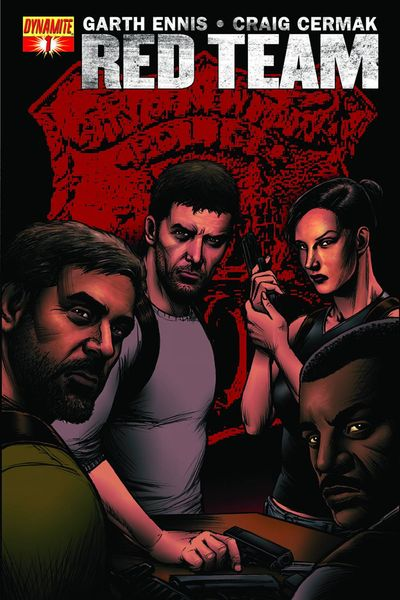 Garth Ennis Red Team #1 (Exc Subscription Variant)