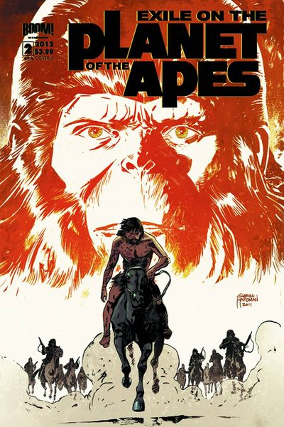 Exile On The Planet Of The Apes #2 (of 4)