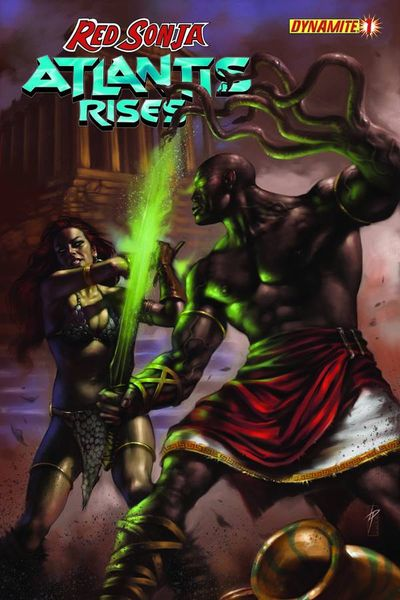 Red Sonja Atlantis Rises #1