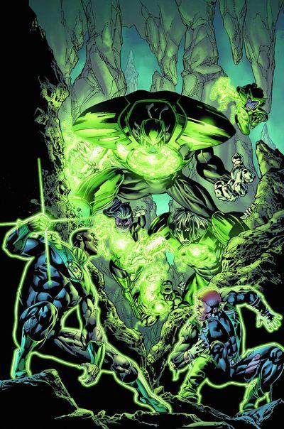 Portada del Green Lantern Corps 11