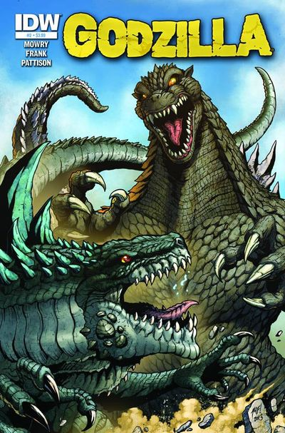 Godzilla Rulers Of The Earth #2