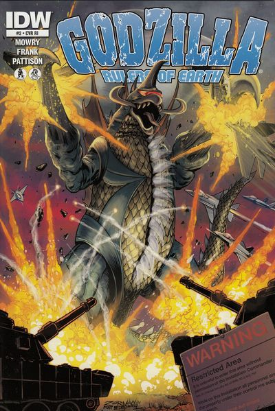 Godzilla Rulers Of The Earth #2 (Retailer 10 Copy Incentive Variant Cover Edition)