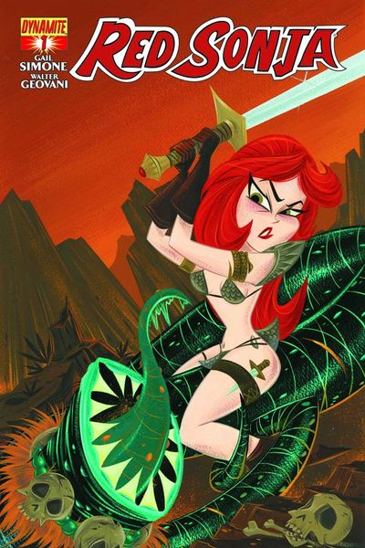 Red Sonja #1 (Stephanie Buscema Subscription Variant)