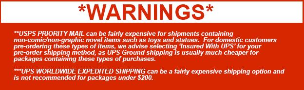 Shipping Warning