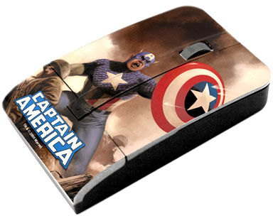 Captain America computer mouse