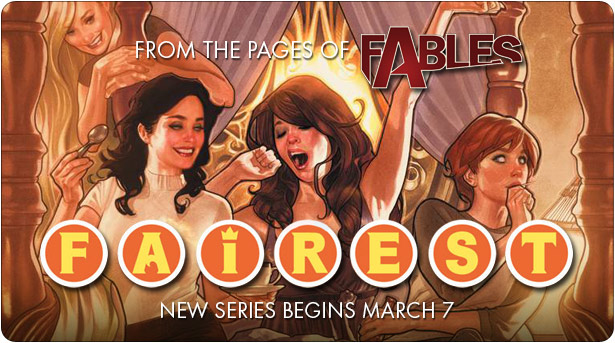 Bill Willingham begins new ongoing Fables series in March.