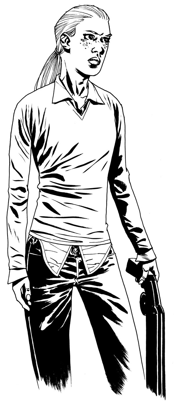 Charlie Adlard The Walking Dead