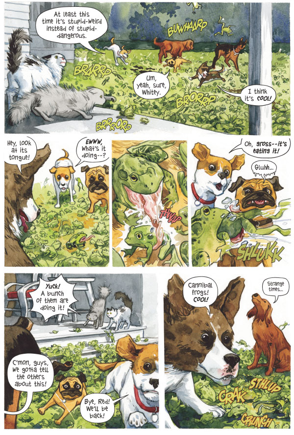 Beasts of Burden Preview
