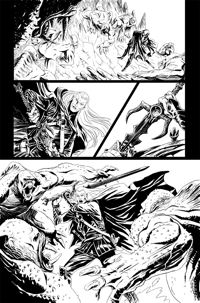 Elric FCBD #0 Page 2 pencils