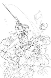 Elric FCBD #0 Page 3 pencils