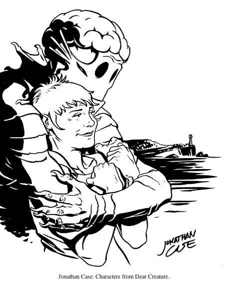 Jonathan Case 2012 CBLDF Sketch