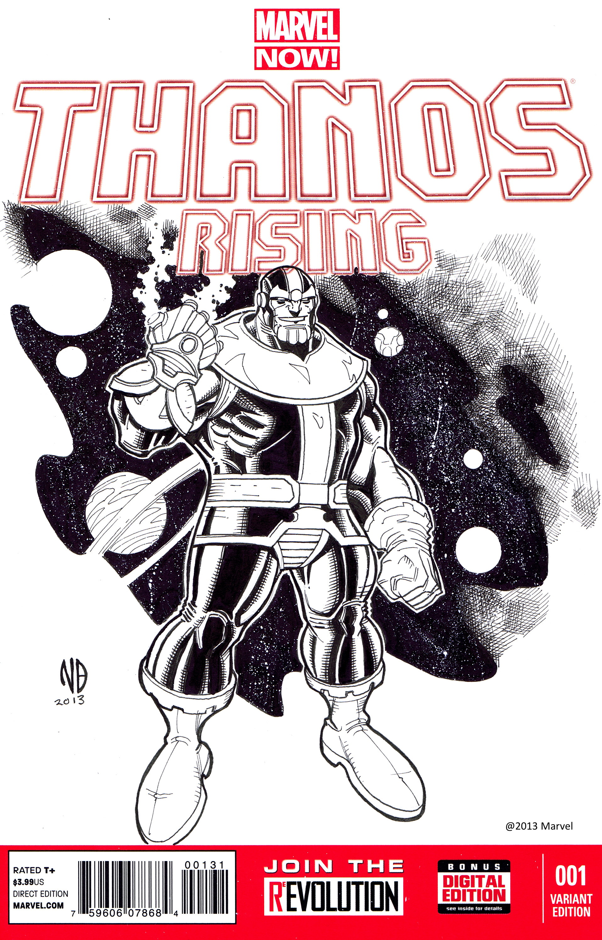 Nick Bradshaw Thanos Sketch