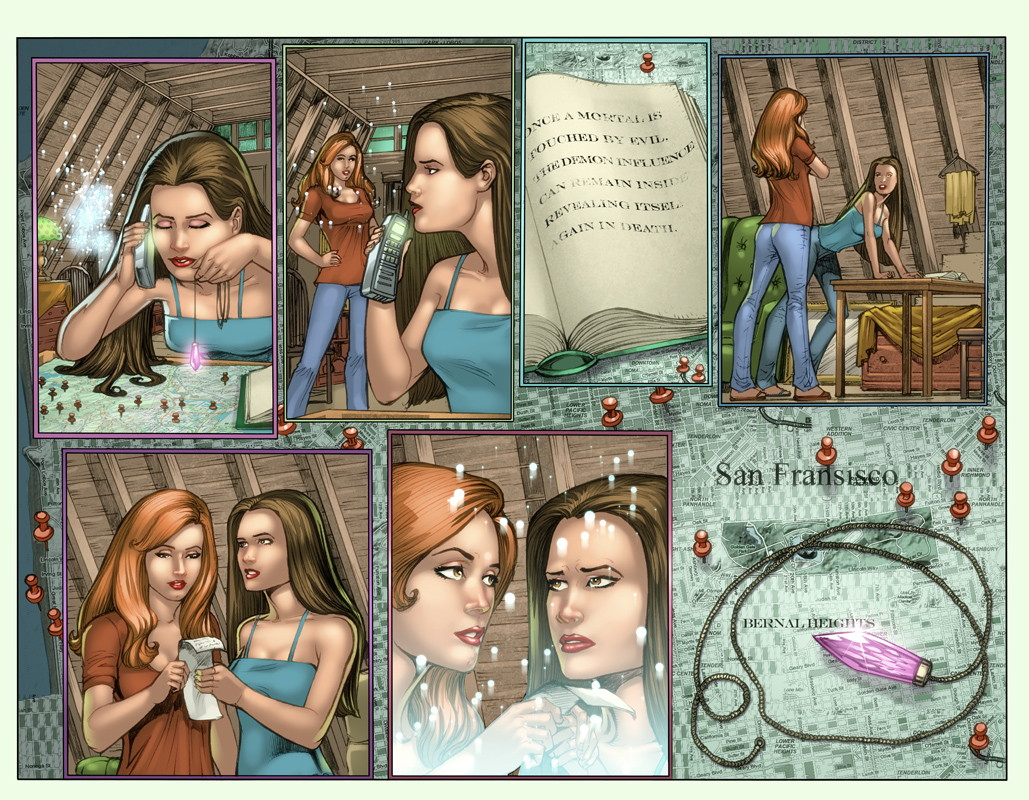 Charmed #3 Pages 2 and 3