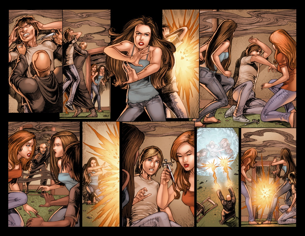 Charmed #3 Pages 12 and 13